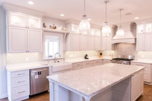Custom Kitchen Remodel Counter Tops in West Michigan
