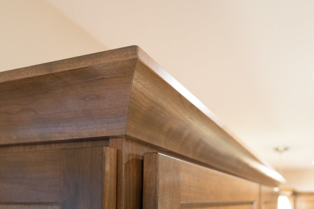 Custom Kitchen Cabinets and Trim in West Michigan