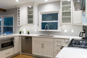 Modern, Clean Custom Kitchen Design in West Michigan