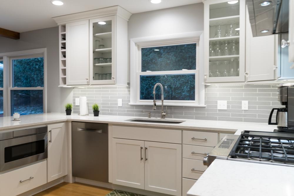 Modern, Clean Custom Kitchen Design in West Michigan