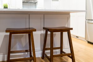 Custom Kitchen Island Bar Stools in West Michigan