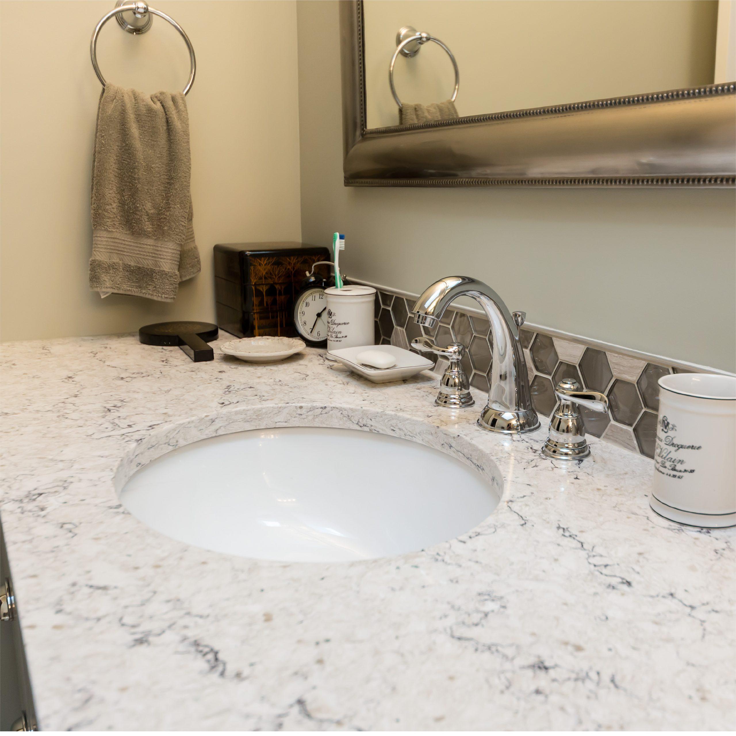 Custom Sink Bathroom Remodel in West Michigan