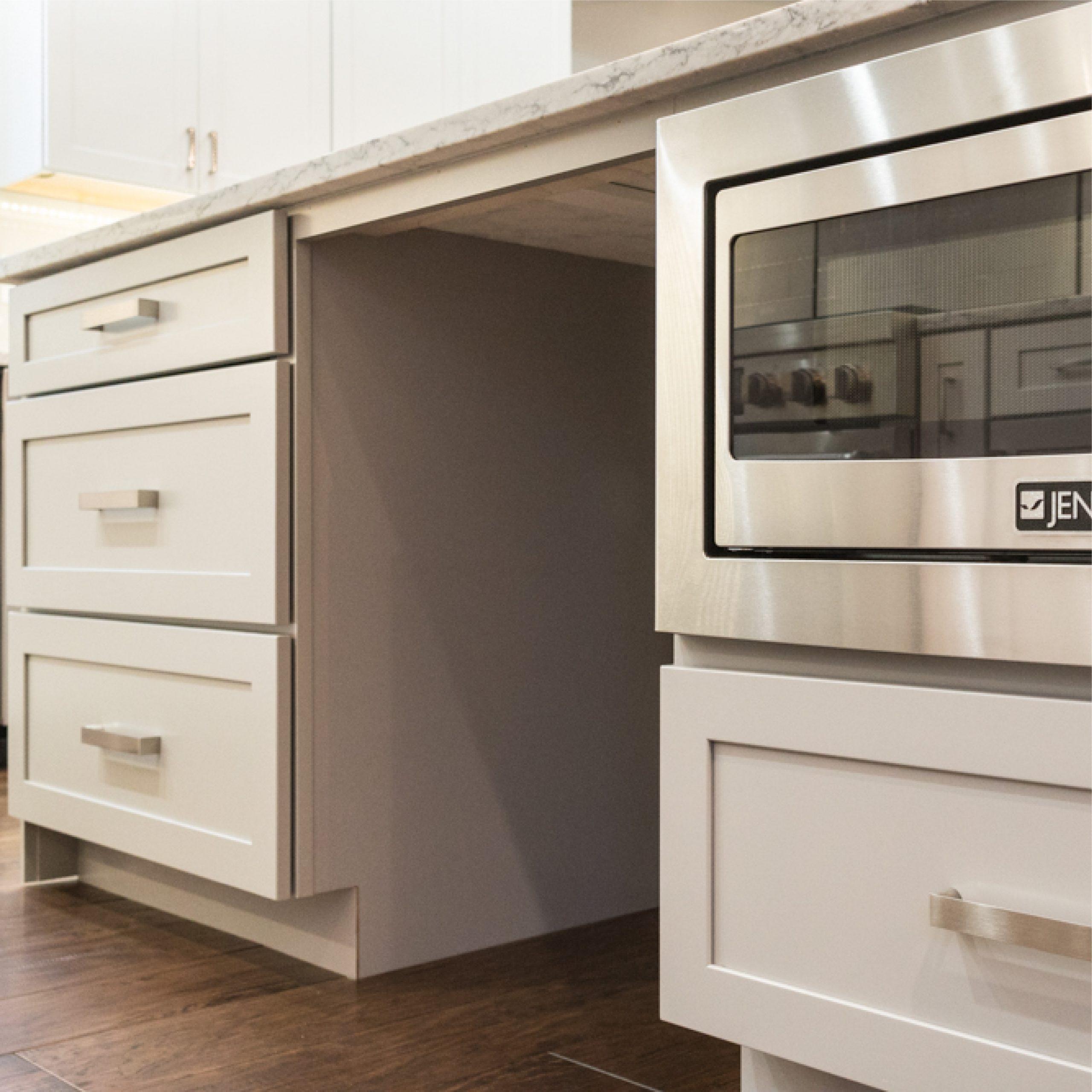 Custom Kitchen Cabinets in West Michigan