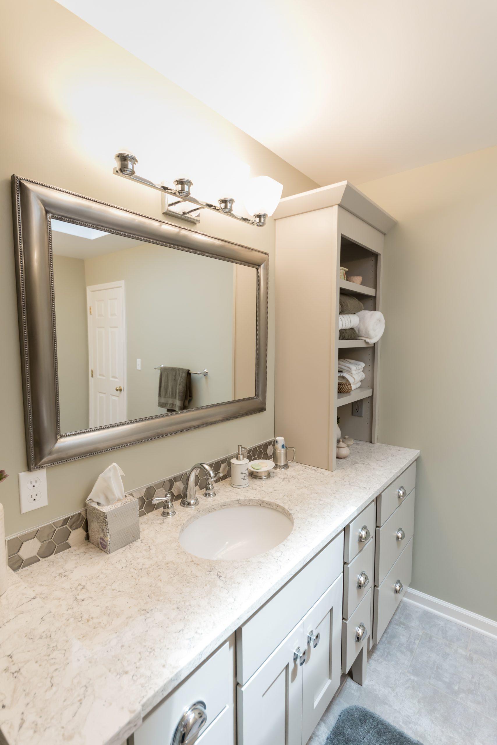 Modern Custom Bathroom Remodel in West Michigan