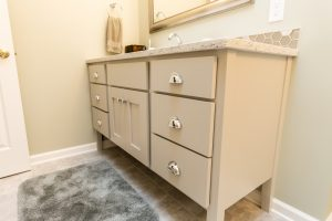 Custom Cabinets Bathroom Remodel in West Michigan