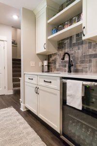 Modern Custom Living Space Remodel in West Michigan